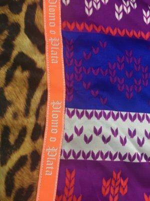 Plomo o plata Foulard en soie bleu-violet