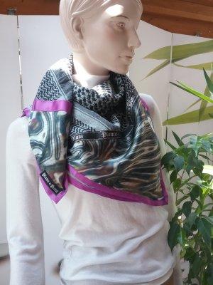 Plomo o plata Châle au tricot multicolore