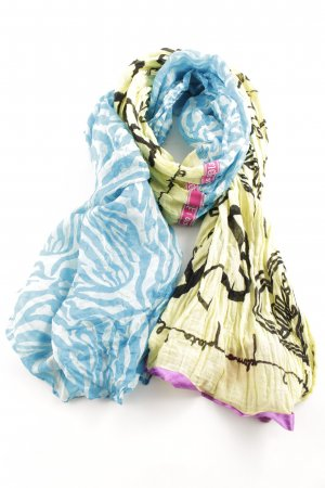 Plomo o plata Shoulder Scarf abstract pattern casual look