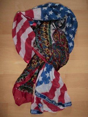 Plomo o plata Zijden sjaal veelkleurig Zijde