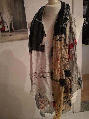 Plomo o plata Zijden sjaal veelkleurig