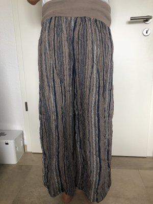 Pantalón estilo Harem marrón-azul
