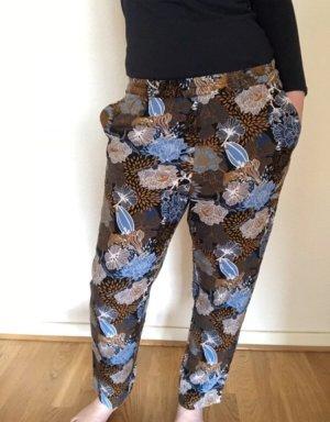 H&M Pantalon large multicolore