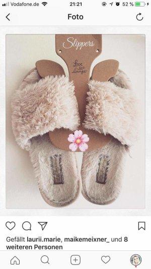 plüsch slippers