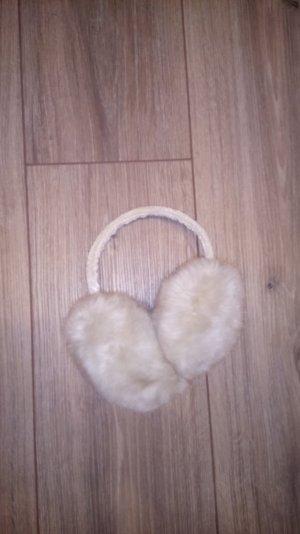 Cache-oreilles chameau-crème