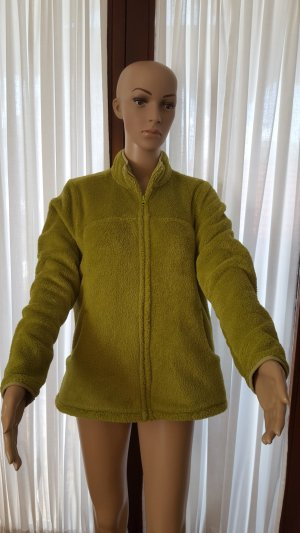 Lands' End Fleece jack grasgroen Polyester