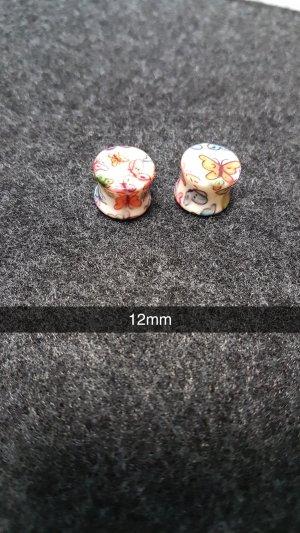 Plugs Schmetterlinge 12mm