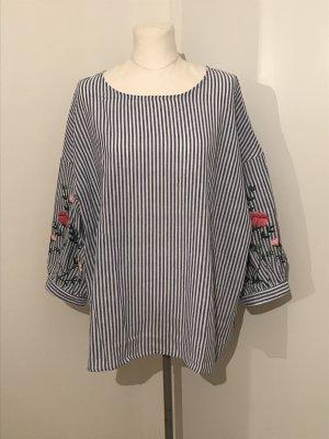 Plus Size Bluse Gr.46 NEU blau Gr.XXL