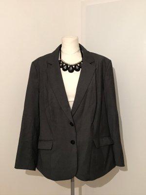Plus Size H&M Blazer Gr.54 grau elegant