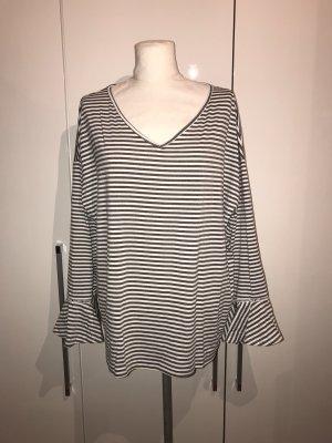 Plus Size Pullover Gr.48/50 gestreift Streifenshirt