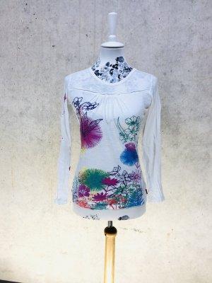 PLUSMINUS by CHIEMSEE Longsleeve langarm Shirt XS 34 weiß