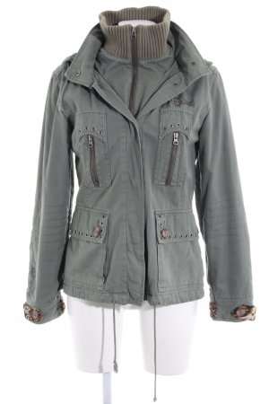 e222bf54e663f PLUSMINUS created by Chiemsee Winter Jacket multicolored animal print