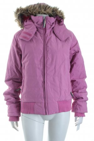Plusminus Winterjacke violett sportlicher Stil