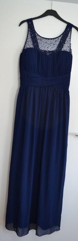 Plussize Abikleid Abendkleid in dunkelblau