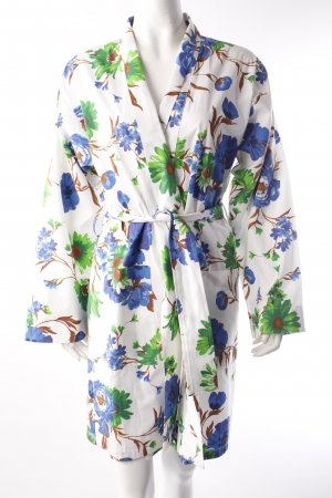 Pluto robe floral print