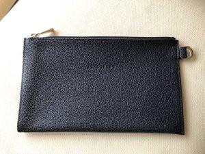 Longchamp Bolso tipo pochette azul oscuro