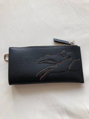 Longchamp Pochette nero-color cammello