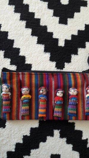 Pocket Purse Cöutch Minitasche Geldbeutel Mäppchen Portemonnaie Handmade Mexiko
