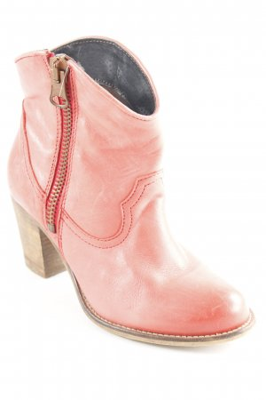 Poelman Western-Stiefeletten lachs Country-Look