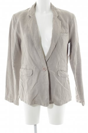Poetry Kurz-Blazer hellbeige Casual-Look