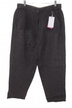 Poetry Linen Pants dark grey casual look
