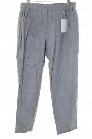 Poetry Linen Pants light grey flecked casual look