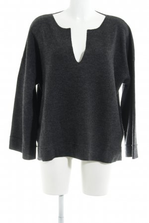 Poetry Strickpullover anthrazit Casual-Look