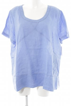 Poetry T-Shirt himmelblau Casual-Look