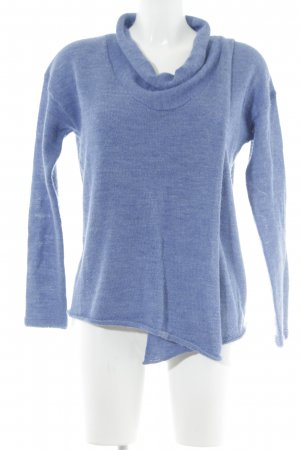 Poetry Wollpullover stahlblau Casual-Look