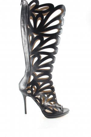 Poi Lei High Heel Sandaletten schwarz Street-Fashion-Look