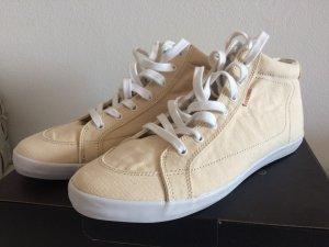 Pointer Sneaker neu mit Karton 40,5 cremeweiß Turnschuh Slip-On