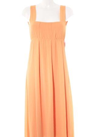 POIS Chiffonkleid apricot Elegant