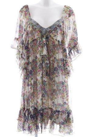 POIS Tunic Dress flower pattern extravagant style
