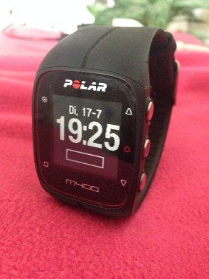 Polar Digitaal horloge zwart-zilver