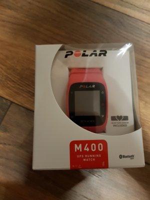 Polar M400 pink neuwertig inkl.Brustgurt Pulsuhr Fitnesstracker