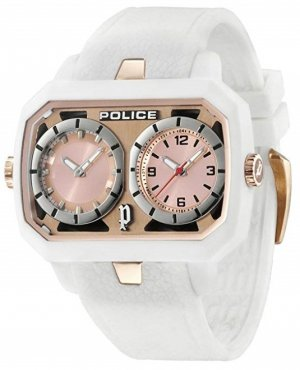 Police Horloge wit