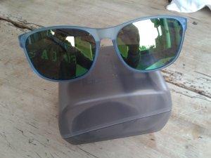 Police Sonnenbrille, NEU,leicht gespiegelt , tolles blau gemustertes Gestell