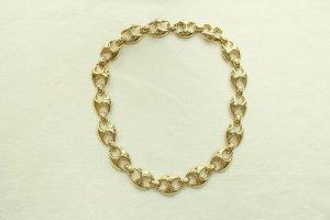 Collar estilo collier color oro
