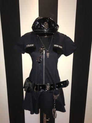 Ladies' Suit black-dark blue