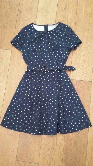 Orsay Dress white-dark blue