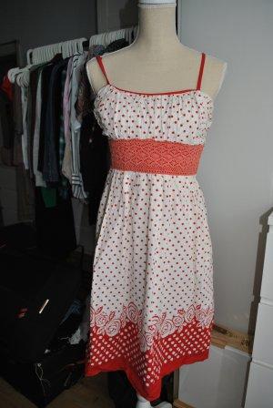 Polka Dot Midi Kleid