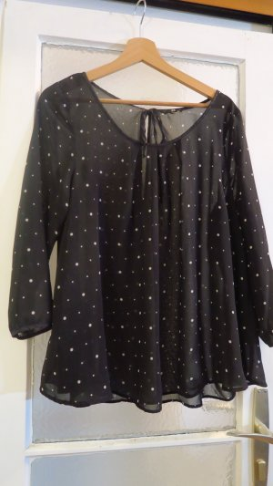 Polka Dots 3/4 Arm Sommerbluse