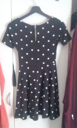 Polka Dots Kleidchen Gr. S H&M Punkte Skaterkleid Kleid Shirtkleid