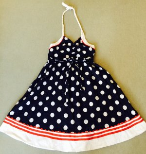 Polka Dots Rockebilly Kleid Xs