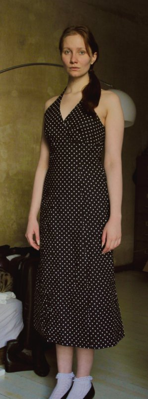 French connection kleid lang maxikleid empire 38 for Rockabilly kleid lang
