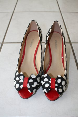 Polkadot Peeptoes - Rockabilly Look