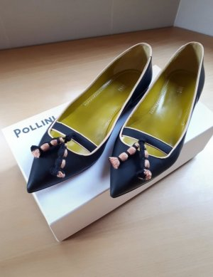 Pollini Ballerinas with Toecap multicolored