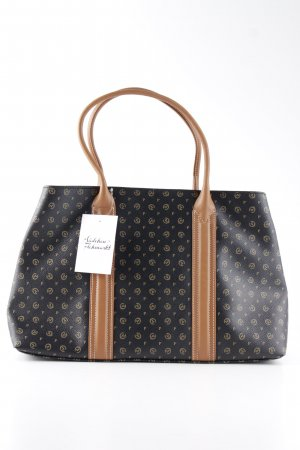 Pollini Handbag themed print business style