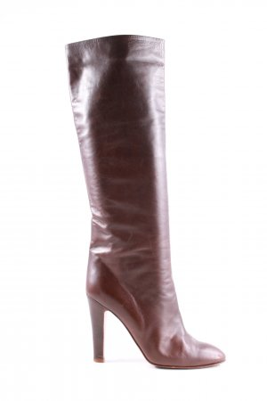 Pollini High Heel Boots brown business style