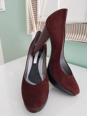 ➰POLLINI- High Heels aus Leder in Braun...NEU!!!(NP 210€)➰